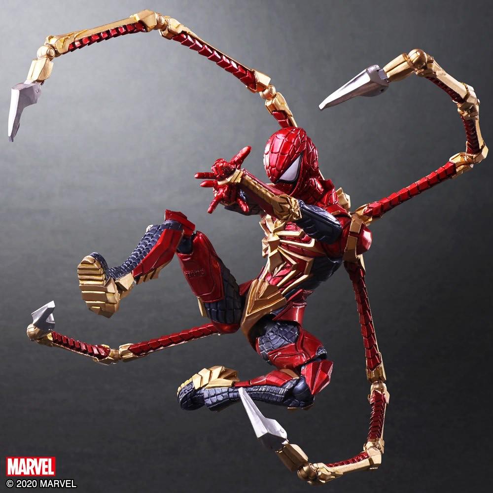 霸氣的蜘蛛鋼爪再現!BRING ARTS「MARVEL UNIVERSE VARIANT」野村哲也設計 變體版「蜘蛛人」可動人偶(スパイダーマン)