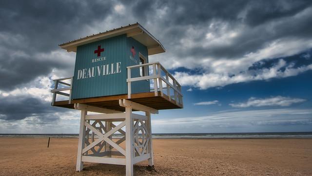 Beach lifestyle in Normandie