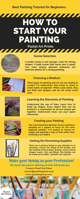 How to Start your Painting- Pastel Art Tutorial