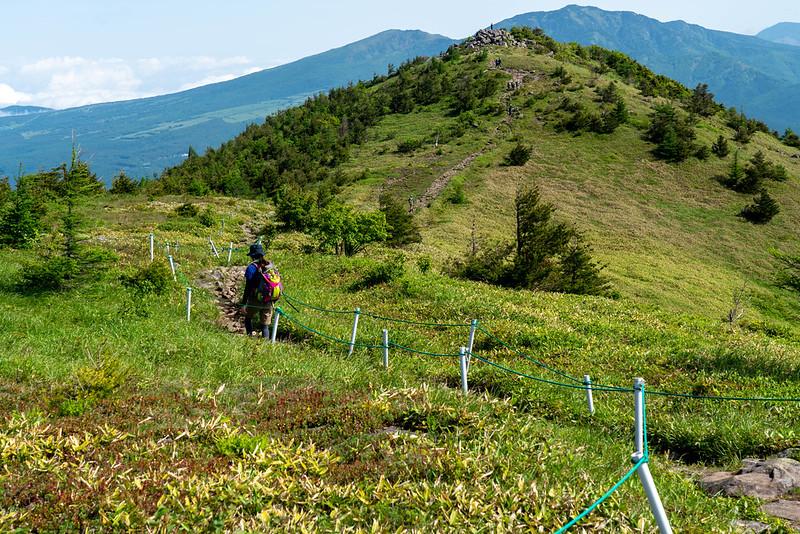 湯ノ丸山の北峰