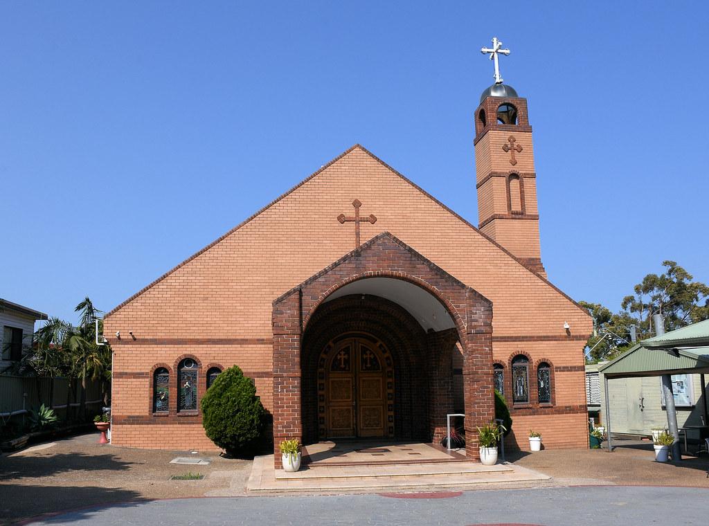 St Mary, St Bakhomios & St Shenouda Coptic Orthodox Church, Kirrawee, Sydney, NSW.