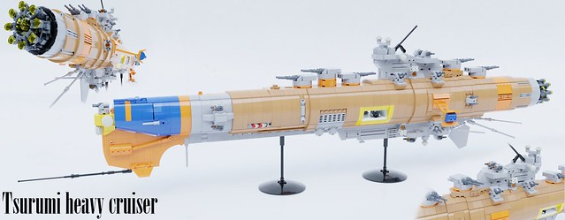 Tsurumi heavy cruiser
