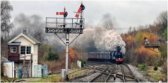Black Fives Steaming into Wales
