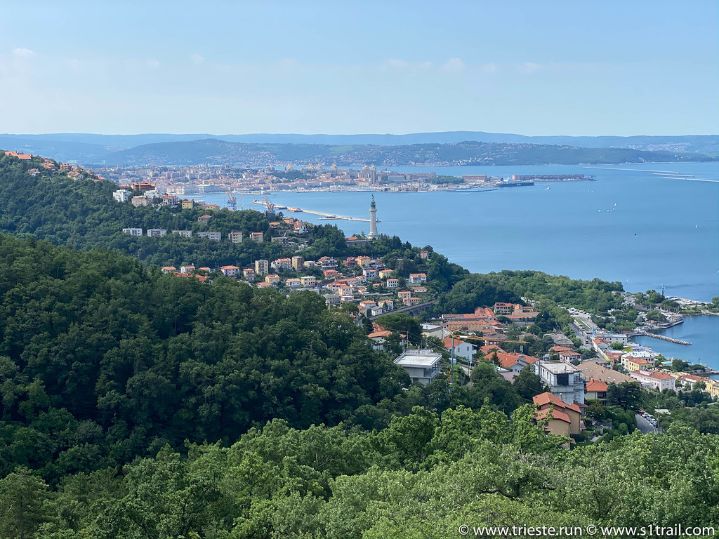 Running Trieste Barcola Napoleonica