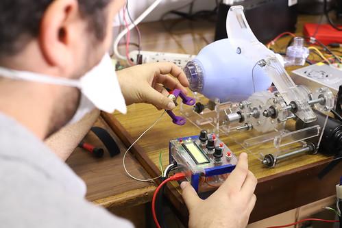 Ventilador automático AmboVent UVG+HUMANA