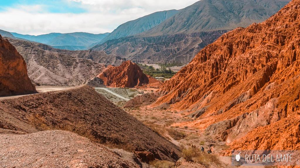 Paseo de los Colorados en Purmamarca