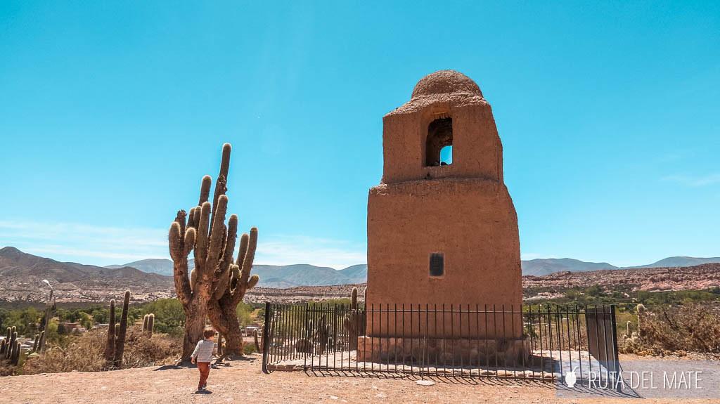 Torre Santa Bárbara en Humahuaca