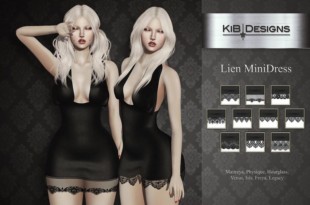 KiB Designs - Lien Minidress @Suicide Dollz