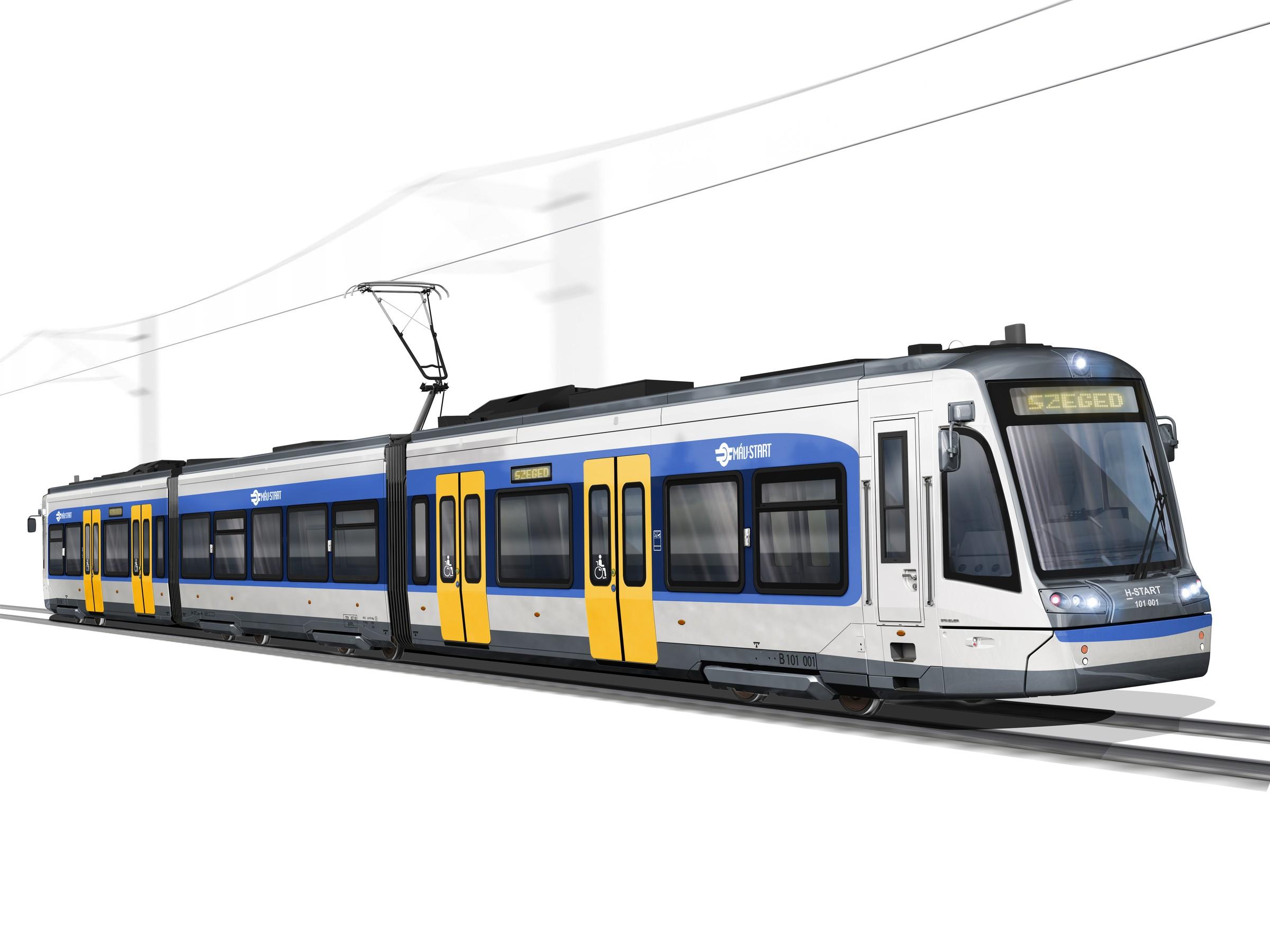 A MÁV szerint a négy új tram-train szerelvény mintegy 9,2 milliárdba kerülne