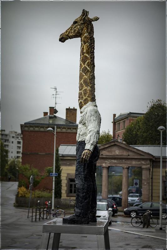 L'homme-girafe