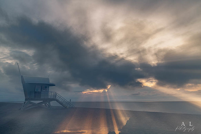 Sunrise -Leucate  Occitanie France-
