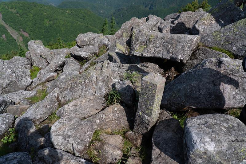 湯ノ丸山 北峰の三角点