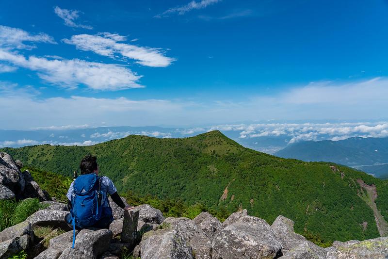 湯ノ丸山 山頂