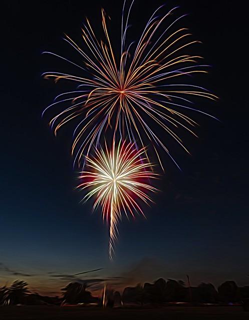 Fireworks.....