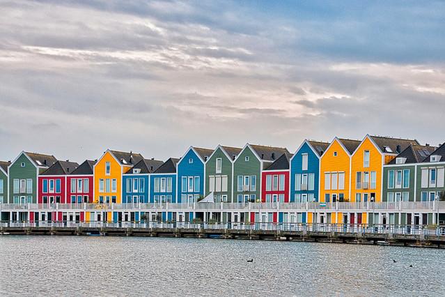 Utrecht - Houten - Rainbow Houses