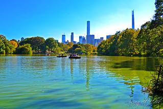 The Lake & Central Park South-East Skyline Manhattan New York City NY P00576 DSC_1344