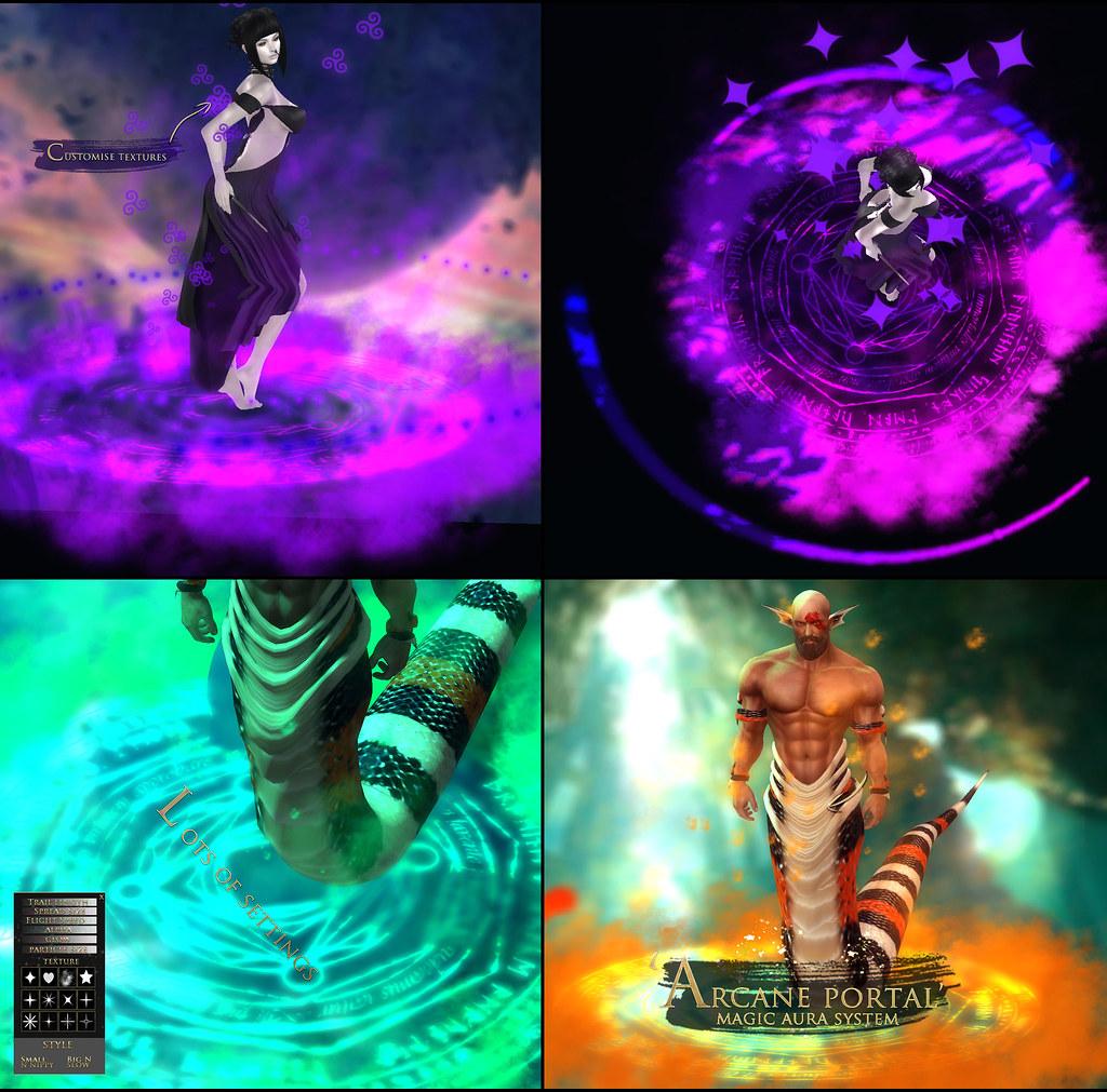 -Elemental- 'Arcane Portal' Magic Aura Effect