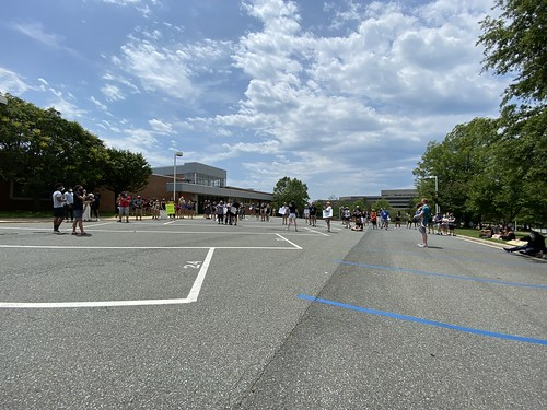BLM protest at Walter Johnson High School