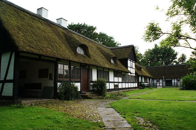 The rectory in Besser (last restored 1753) - Samsø - Denmark