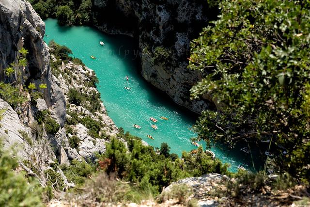 les gorges du Verdon dans les Alpes de haute provence  -3D0A2650