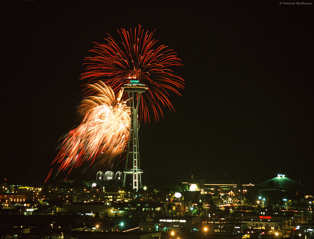 4th Of Jul-Ivar's Fireworks - Seattle - Washington
