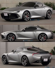 On formtrends.com – Alternative design proposal for the 5th generation Toyota Supra. What do you think?⠀ Check out the design story on the Form Trends website (link in bio) #toyota #supra #sportscar #alternative #cardesign #designstory #formtrends #exclus
