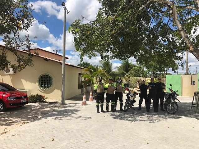 Nova sede da Secretaria de Segurança e Demutran está em fase de conclusão
