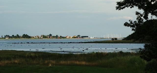 View of Stavns Fjord towards Langør - Samsø - Denmark