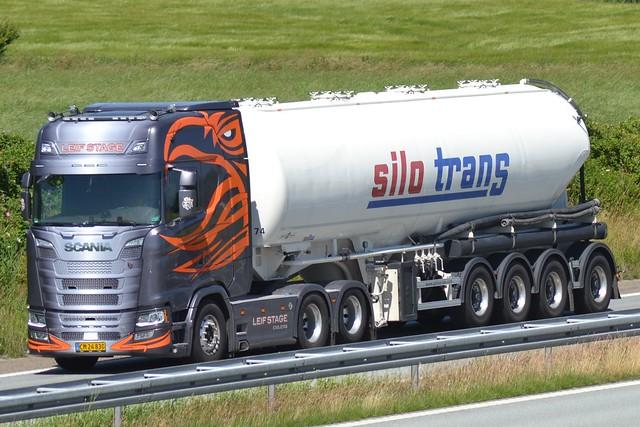 Scania NG S 650 V8 - Leif Stage Esbjerg - Silo Trans - DK  CM 24 830