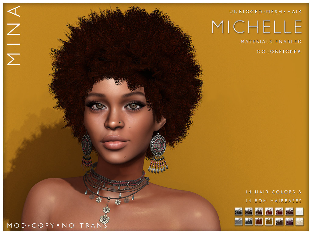 MINA Hair - Michelle @Black Fair 2020