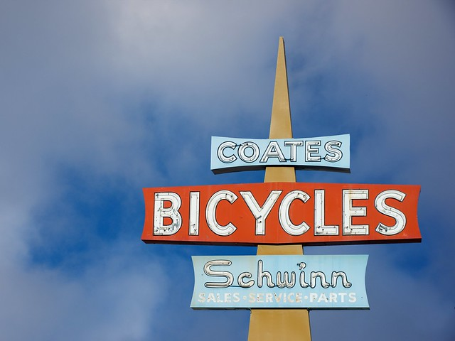 Coates Bicycle Shop (RIP)