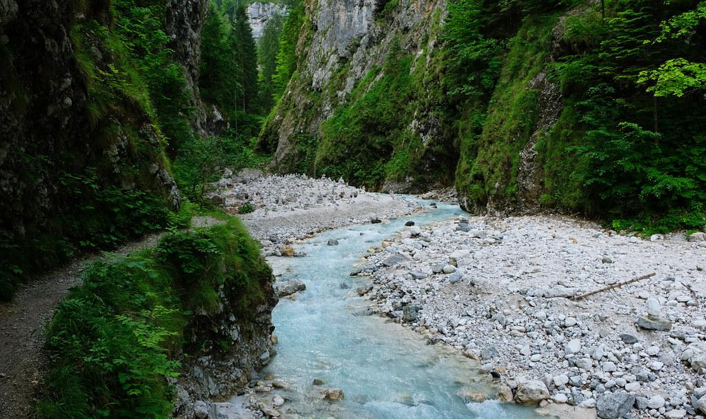 Martuljek Gorge, Julian Alps, Slovenia