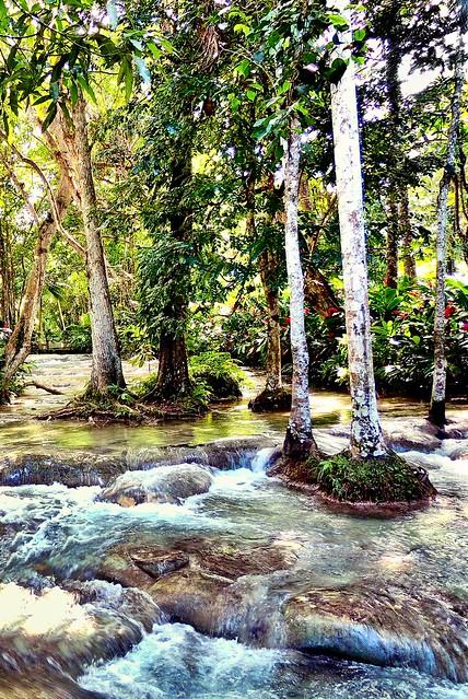 Dunn's River Falls in Ocho Rios, Jamaica