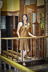 Leopard-print Dress!