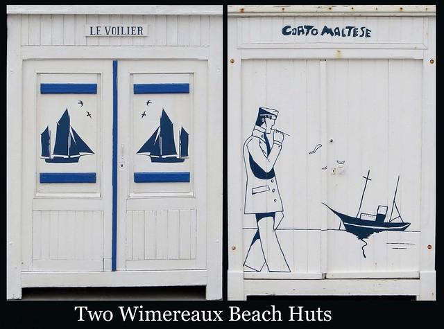 FRANCE 2018 - Beach Huts (385 & 386)