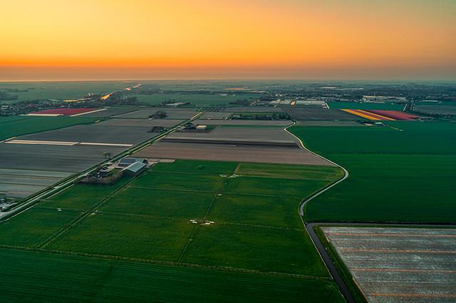 Noord-Holland near the North Sea.