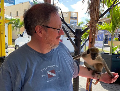 Eric visiting with a distant relative on St. Kitts last January. From Eric Leif Peters: #CommunityCollegeBecause ... learning is what everybody will be doing in the 21st Century