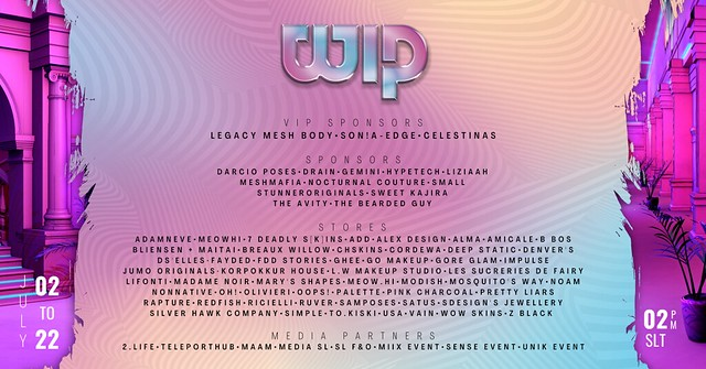 Step It Up At WIP Event!