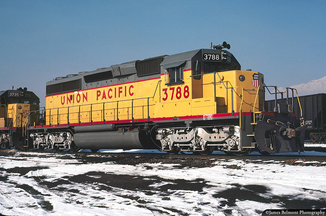 UP's Last Order for EMD SD40-2s