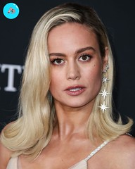 Brie Larson Hot Silver Dress Stills Collections | Actress&Divas