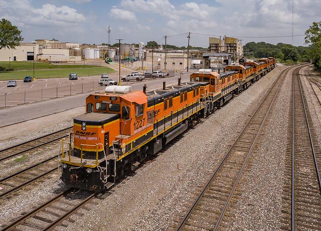BNSF 1227 (3GS21B) KC Jct. Memphis, Tennessee