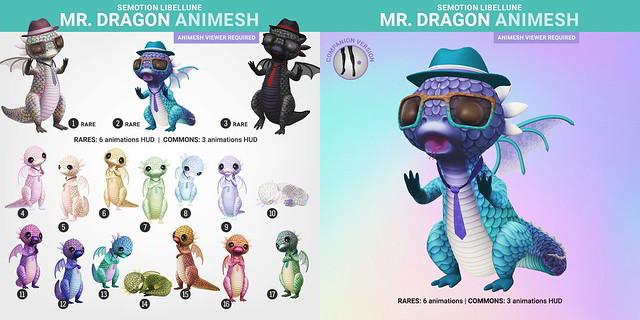SEmotion Libellune Mr.Dragon Animesh