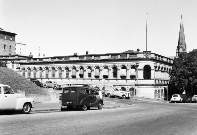 Exterior of the Main Roads building, corner of Albert and Turbot Street Brisbane (approx. 1920s-1940s)