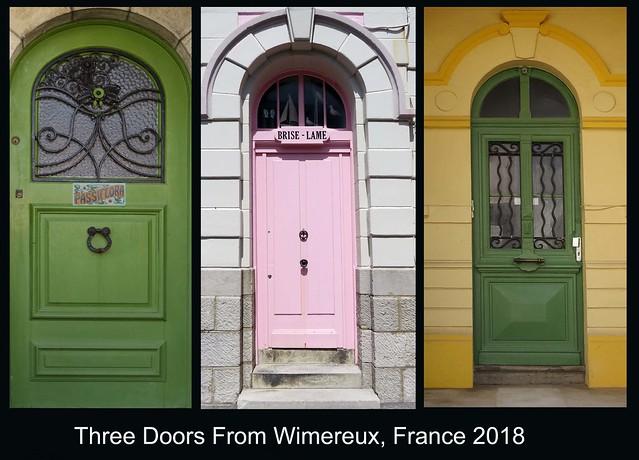 FRANCE 2018 - Doors (199, 216 & 235)