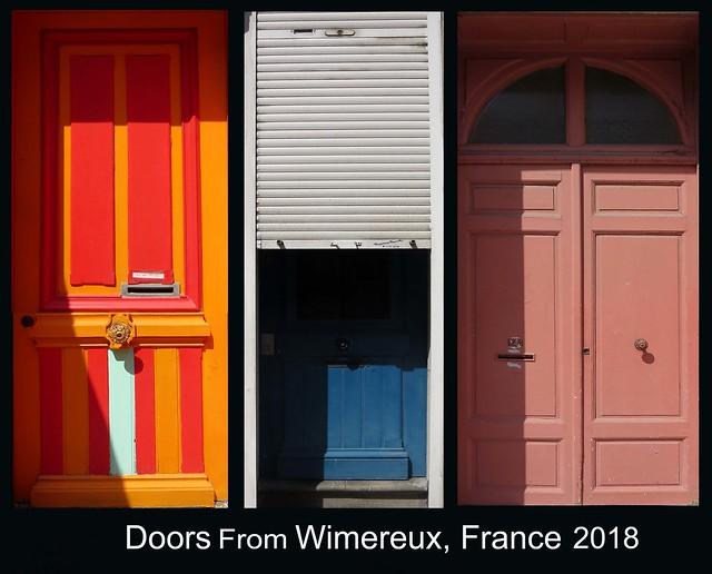 FRANCE 2018 - Doors (174, 176 & 179)