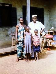 Blama Mr Mattia Mamie and family