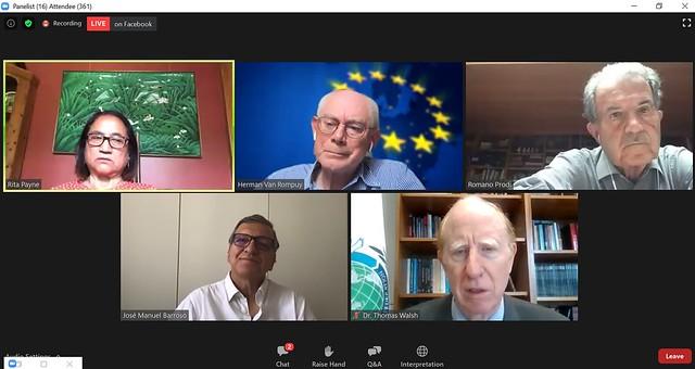 UK-2020-06-26-Former Prime Ministers Discuss Future of EU