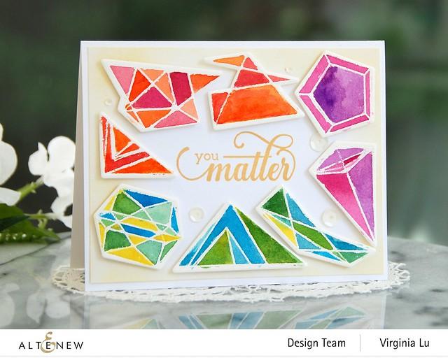 07112020-Geometric Elements Stamp & Die Set-ArtistWatercolor 24Pan Set-FancyGreetings#1