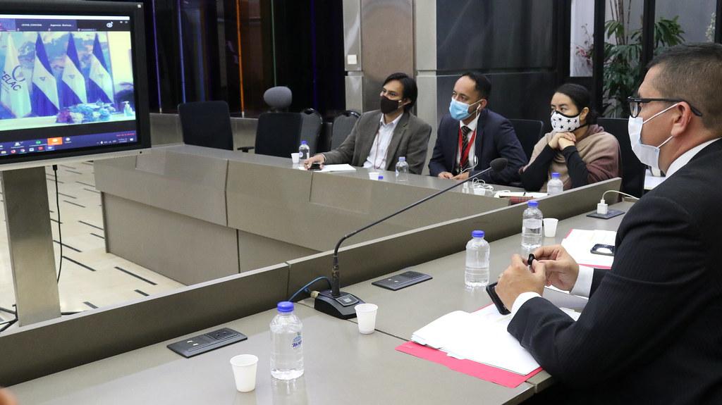 Encuentro Virtual Latinoamericano y  Caribeño sobre el Espacio Vocero:  Adolfo Godoy Pernia, Presidente  de la Agencia Bolivariana para Actividades Espaciales