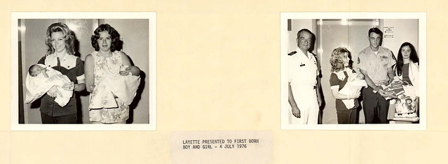 07-04-1976 page from NH Camp Lejeune 1976-1978_scrapbook